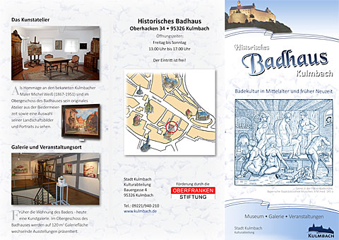 Folder Historisches Badhaus
